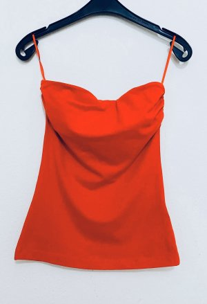 H&M Backless Top red