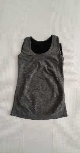 H&M Sports Tank silver-colored-anthracite