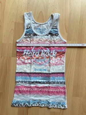 Hard Rock Cafe Tank Top multicolored cotton