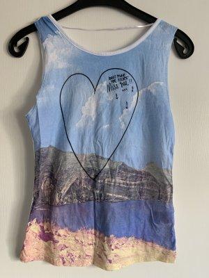 Pull & Bear Camiseta sin mangas multicolor