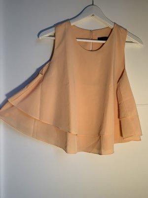 Zara Basic Top linea A albicocca
