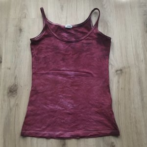 Pimkie Top basic purpurowy-magenta