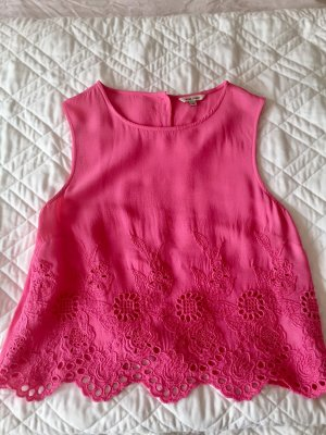 River Island Cut out top magenta-roze