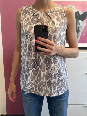 FFC Short Sleeved Blouse cream-grey