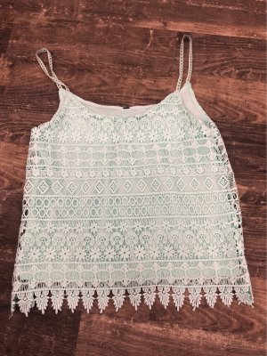 Lace Top turquoise