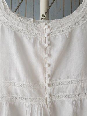 Casa Blanca Top na ramiączkach biały
