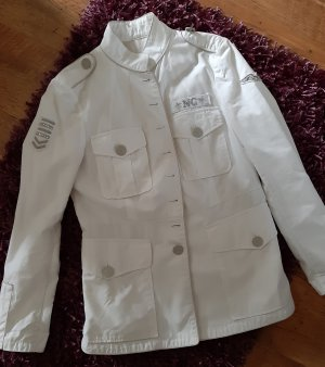 NC nice connections Long Jacket white