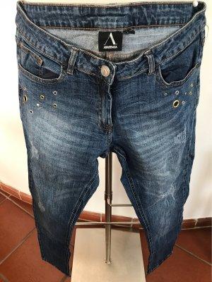 Anastacia by s.Oliver Jeans elasticizzati blu acciaio