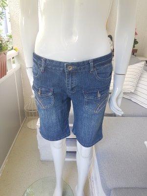 Manguun Pantaloncino di jeans blu