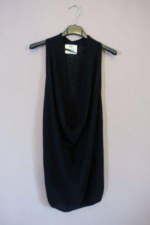 FTC Cashmere Haut tricotés noir-blanc tissu mixte