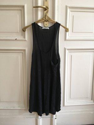 Top/Kleid in Anthrazit