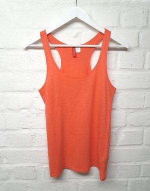 Top Koralle Orange H&M Gr. 34/XS