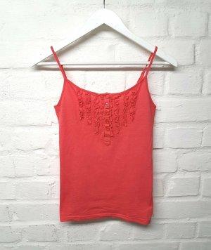Fishbone Top basic rosso-rosso chiaro