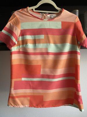 Koton Camisa de franela salmón-verde grisáceo