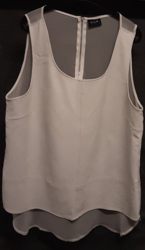 Vila Clothes A Line Top natural white