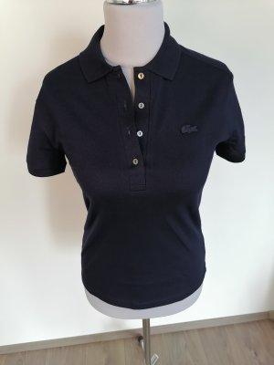 *TOP* Lacoste Poloshirt Damen marine blau Gr. 36 *Neu*