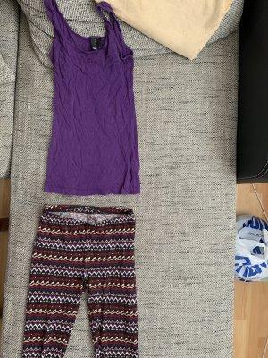 Top leggins set