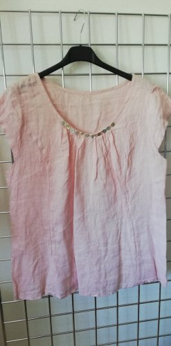 Made in Italy Top basic rosa pallido