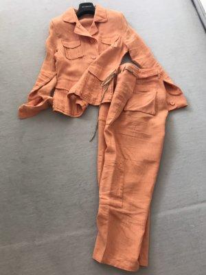 FFC Traje de pantalón naranja
