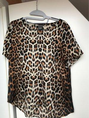 Top, Leopardenmuster, xs , von Ichi
