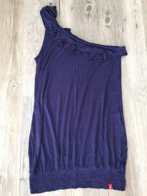 edc by Esprit One Shoulder Top blue violet-dark violet