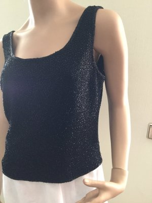 Apart Corsage Top black polyester