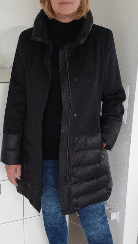 Top-Mantel Wolle-Daunen