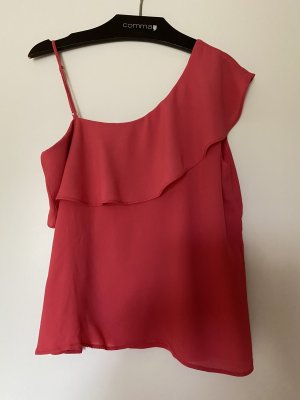 Massimo Dutti Off the shoulder top roze