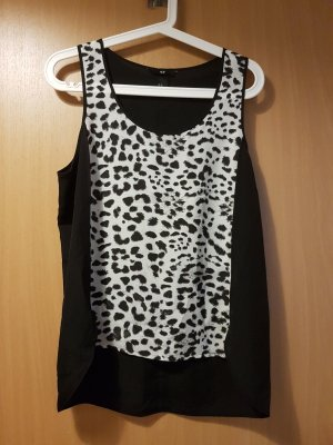 Top mit Animalprint