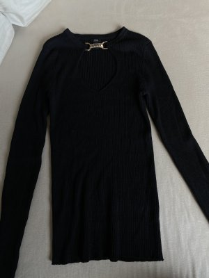 River Island Neckholder Top black