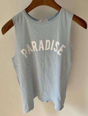 "Top mit Druck ""Paradise"""