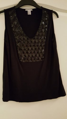 H&M A-lijn top zwart