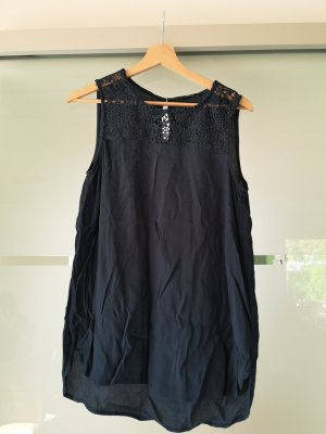 Only Blouse topje donkerblauw