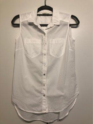 H&M Top Polo bianco