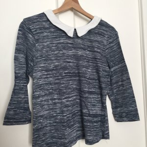 Polo Top dark blue-grey