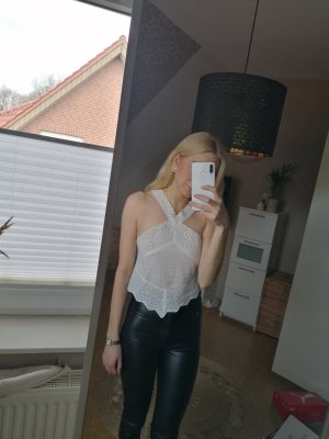 H&M Cropped Top white