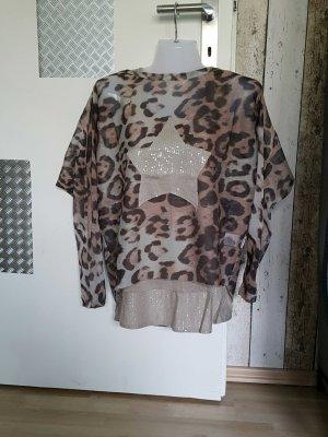 Top mit Oversize Shirt