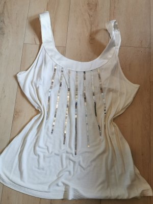 H&M Blouse Top silver-colored-oatmeal