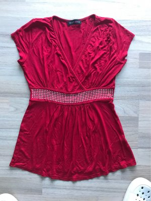 Melrose Blouse Top red