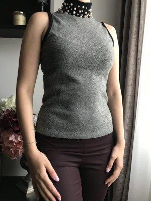 IICEL Halter Top grey-gold-colored