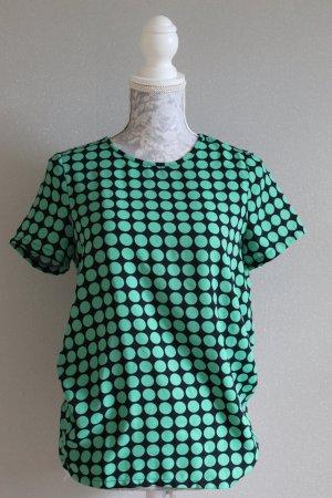 Vero Moda Blouse topje donkerblauw-groen Polyester