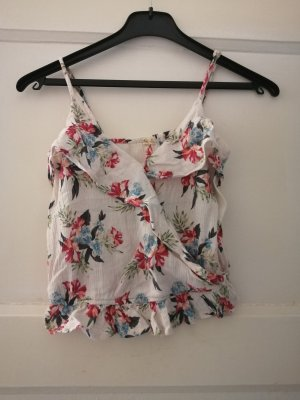 Hollister Frill Top multicolored