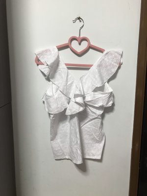 Frill Top white