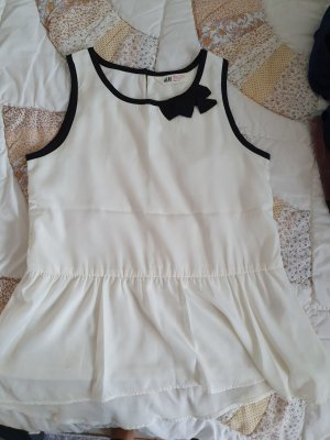 Woman for H&M Silk Top white