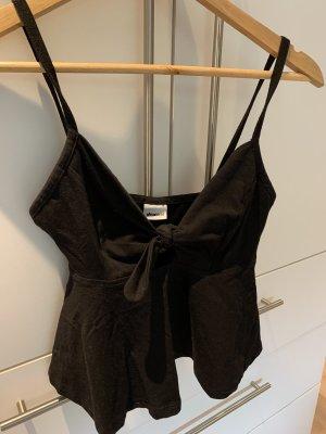 Gina Tricot Cropped top zwart