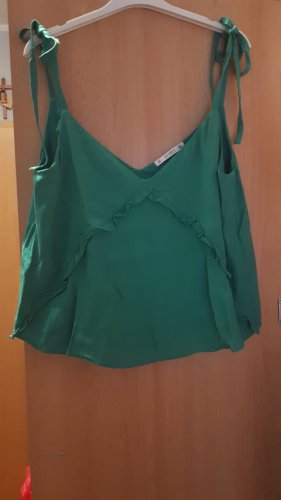 Pull & Bear Camisole vert clair-vert