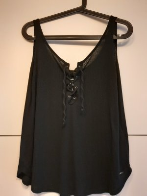 Abercrombie & Fitch Strappy Top black