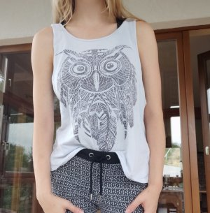 FB Sister Cut Out Top multicolored cotton