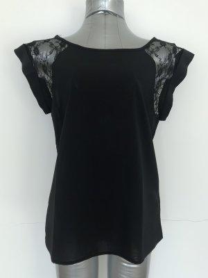 Jennyfer Kanten topje zwart Polyester