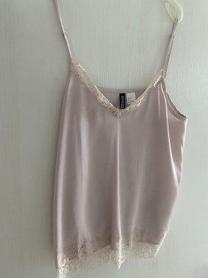 H&M Haut en soie rose clair